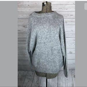 Free people size xs alpaca blend gray